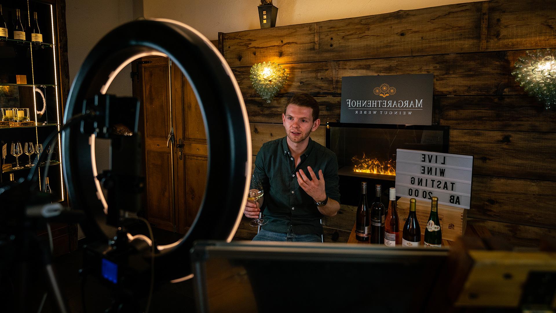 Margarethenhof Online Weinprobe mit Nicolas Weber
