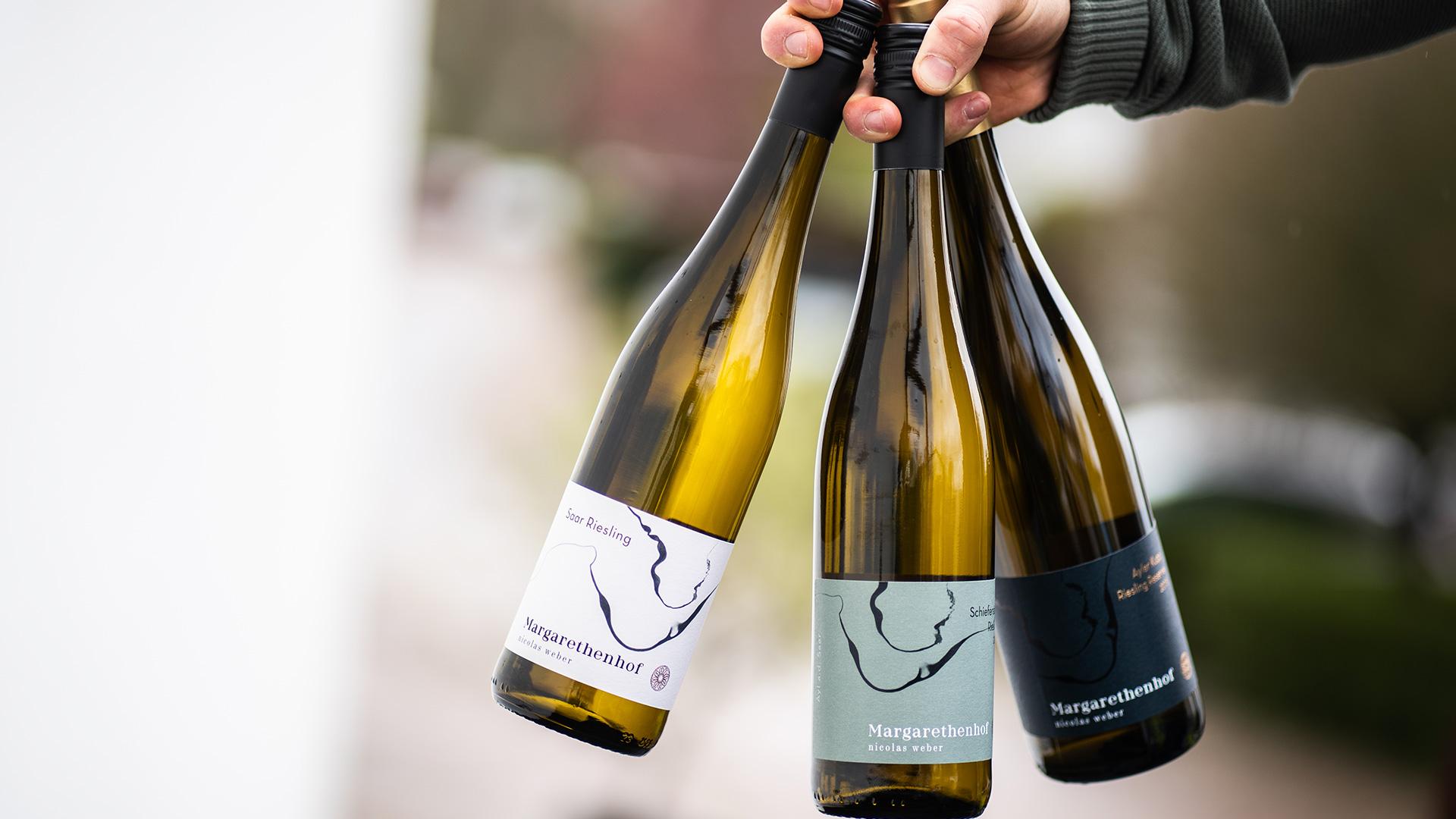 Margarethenhof Sortiment Klassifikationen Flaschen